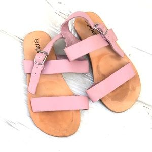 Piper Finn pink Sandals leather size 9